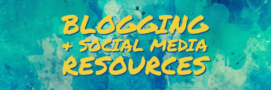 blogging social media resources
